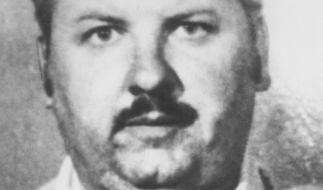 Polizeifoto von John Wayne Gacy, aufgenommen nach seiner Festnahme am 22. Dezember 1978. Gacy wurde im März 1980 zum Tode verurteilt und im Mai 1994 hingerichtet. (Foto)