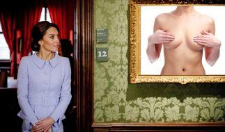 """Herzogin Kate wurde nackt in der """"Closer"""" abgedruckt - Sehr zum Missfallen des britischen Königshauses. (Foto)"""