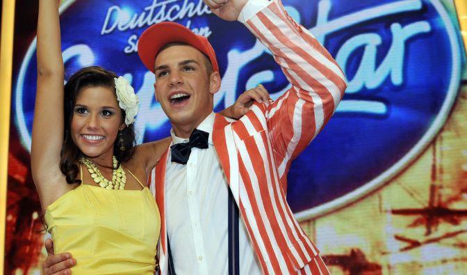 """2011 lernten sich Sarah und Pietro bei der achten Staffel von """"Deutschland sucht den Superstar"""" kennen und lieben. Beide schafften es bis ins Finale. (Foto)"""