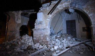 Italien unter Schock: Zahlreiche Gebäude wurden durch das Erdbeben zerstört. (Foto)