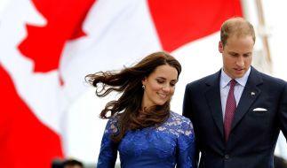 Zwischen William und Kate soll es kriseln. (Foto)