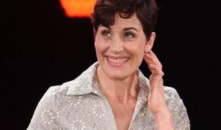 Schauspielerin Nina Kunzendorf erhielt im Juni 2016 den Bayerischen Fernsehpreis als beste Schauspielerin in einem Fernsehfilm. (Foto)