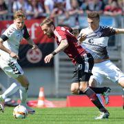 Unentschieden! FC St. Pauli kommt gegen 1. FC Nürnberg nicht voran (Foto)