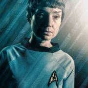 Tatjana Clasing (Simone Steinkamp) als Spock aus