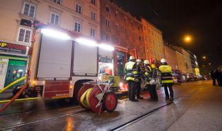 Bei einem Feuer in der Nacht zum Mittwoch starben drei Menschen. (Foto)