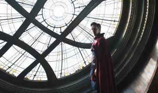 Benedict Cumberbatch entdeckt als Doctor Strange eine gänzlich neue Welt. (Foto)
