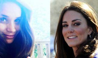 Haben einige Gemeinsamkeiten: Prinz Harrys neue Freundin Meghan Markle und Kate Middleton. (Foto)