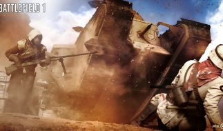 """""""Battlefield 1"""" versetzt den Spieler in den Ersten Weltkrieg und lässt ihn dort sowohl Kämpfe im Einzel- als auch Mehrspieler-Modus erleben. (Foto)"""
