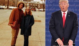 So peinlich haben Sie Hillary Clinton und Donald Trump noch nicht gesehen. (Foto)