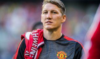 Bastian Schweinsteiger hat es bei Manchester United nicht leicht. (Foto)