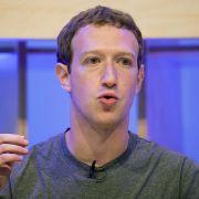 Staatsanwaltschaft ermittelt gegen Zuckerberg (Foto)
