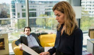 """Anke Engelke spielt in """"Tödliche Geheimnisse"""" die Chefredakteurin Karin Berger. (Foto)"""