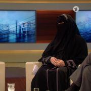 TV-Skandal um voll verschleierte Frauenbeauftragte (Foto)