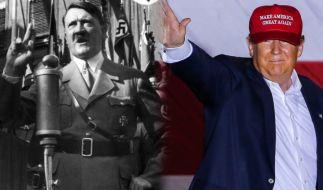 Es ist nicht das erste Mal, dass Donald Trump mit Adolf Hitler verglichen wird. (Foto)