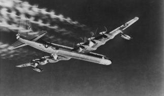In einem B-36 Bomber wie diesem wurde die verschollene Bombe 1950 transportiert. (Foto)