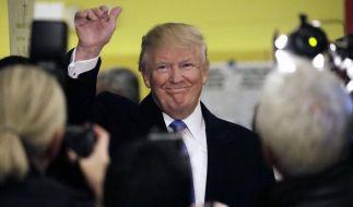 Mit einem so deutlichen Ergebnis für Donald Trump war nicht zu rechnen. (Foto)