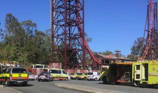 Nach dem tragischen Unglück im Freizeitpark Dreamworld in Australien, bei dem vier Menschen in einer Wildwasserbahn ums Leben kamen, soll das Fahrgeschäft abgerissen werden. (Foto)