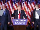 Amerikas neuer Präsident: Donald Trump. (Foto)