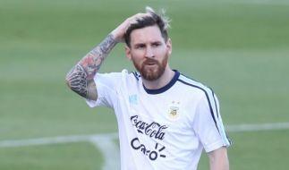 Lionel Messi ist ein begeisterter Tattoo-Fan. (Foto)