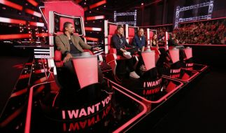 """Verwirrung bei """"The Voice of Germany"""" am Donnerstag, 10.11.2016. (Foto)"""
