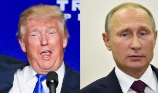 Donald Trump und Wladimir Putin (Foto)