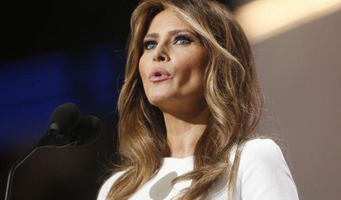 Für ihre Rede im Juli 2016 erntete Melania Trump viel Spott. Ganze Passagen hatte sie von einem Vortrag Michelle Obamas übernommen, den die amtierende First Lady auf einem Parteitag im Jahr 2008 gehalten hatte.