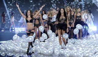 Wunderschöne Frauen in heißen Dessous: Die Shows von Victoria's Secret gehören zu den spektakulärsten der Mode-Industrie. (Foto)