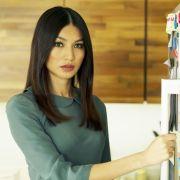 Lady-Roboter mit menschlichen Zügen (Foto)