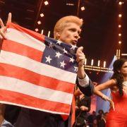 Pochers geschmackloser Auftritt als Donald Trump (Foto)