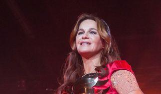 "Andrea Berg ist momentan mit ""Seelenbeben"" auf Tour. (Foto)"