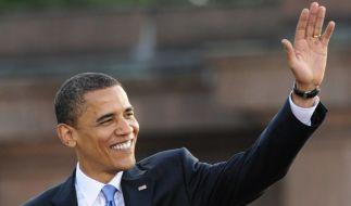 Barack Obama geht als erster schwarzer US-Präsident in die Geschichte der USA ein. (Foto)