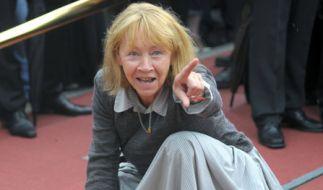 """Brigitte Hoffmann als obdachlose Irene in """"Ein Teil von uns"""". (Foto)"""