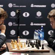 Remis-Serie im Kampf um die Schachkrone geht weiter (Foto)