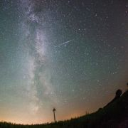 Sternschnuppen flitzten über den Himmel (Foto)