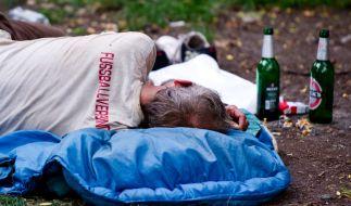 Der Obdachlose wurde erst geschlagen und dann angezündet. (Foto)