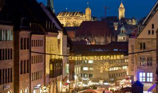 Der Christkindlesmarkt in Nürnberg zählt zu den berühmtesten Weihnachtsmärkten in Deutschland. (Foto)
