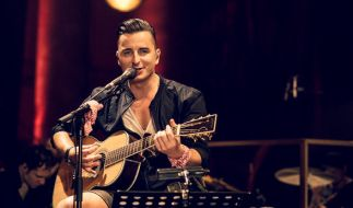 Andrea Gabalier beim MTV Unplugged-Konzert in Wien 2016. (Foto)