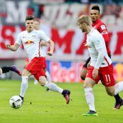 Leipzig stürmt an die Tabellenspitze - 3:2 in Leverkusen (Foto)