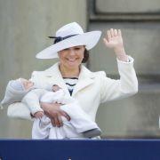 Süß! Sie gibt die Spitznamen von Prinz Oscar und Prinzessin Estelle preis (Foto)