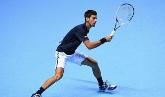 Novak Djokovic steht im Halbfinale bei der Tennis ATP-WM 2016 in London. (Foto)