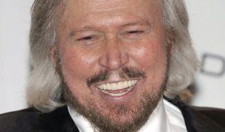 Barry Gibb ist das letzte noch lebende Mitglied der Bee Gees. (Foto)