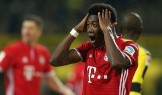 Der FC Bayern steht nach dem 11. Spieltag nicht mehr an der Tabellenspitze. (Foto)