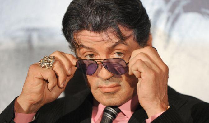 Sylvester Stallone privat