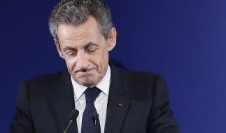 Ex-Staatschef Sarkozy fliegt aus dem Rennen. (Foto)