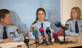 Chefermittlerin Hilde Reikras während der Pressekonferenz. (Foto)