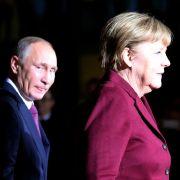 Wladimir Putin wird weitere Kanzlerschaft Angela Merkels verhindern (Foto)