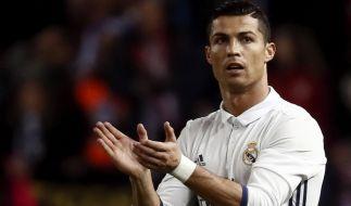 Im Stadtderby gegen Atletico Madrid war Cristiano Ronaldo einigen Anfeindungen ausgesetzt. (Foto)