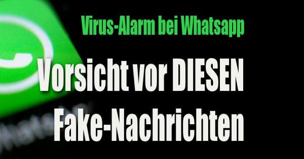 Whatsapp Virus Aktuell