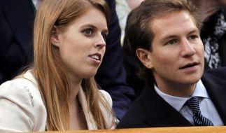 Ein Bild aus glücklicheren Tagen: Prinzessin Beatrice und ihr Ex-Freund David Clark bei einer Sportveranstaltung vor ihrer Trennung im August 2016. (Foto)