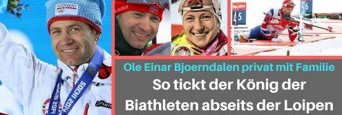 Ole Einar Bjoerndalen privat